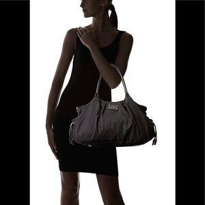 Kate Spade Stevie black nylon baby/ diapers bag